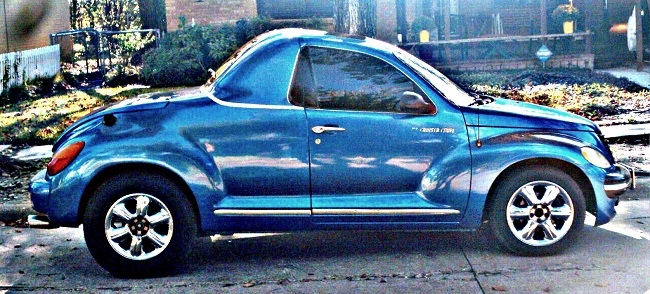 PT Cruiser Coupe side view